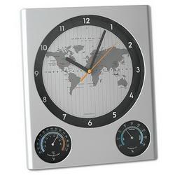 Часы-метеостанция настенные