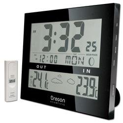 Настенная погодная станция-радиоконтролируемые часы-будильник-календарь