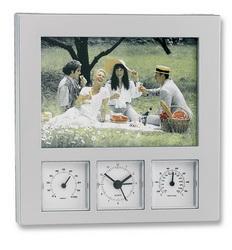 Метеостанция-часы-рамка для фото