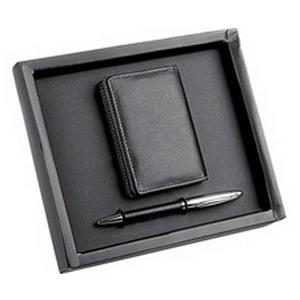 Набор: визитница, ручка