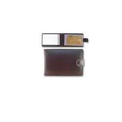 Кляссер с на 40 визитных или кредитных карт с блокнотом