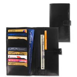 Портмоне путешественника с отделениями для банкнот и кредитных карт