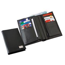 Портмоне с отделениями для документов и кредитных карт