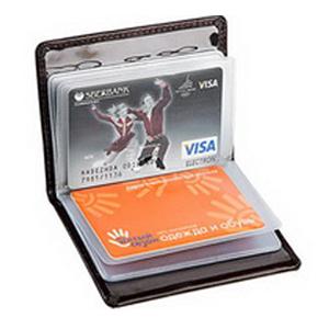 Футляр на 10 кредитных и дисконтных карт