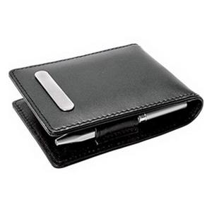 Блокнот с ручкой, рамкой для фотографии и зажимом для денег