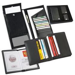 Набор: портмоне дорожное, визитница, обложка для паспорта