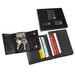 Набор: ключница, портмоне, визитница