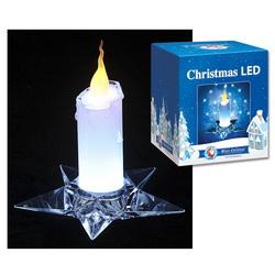 Светодиодная свеча с подсвечником