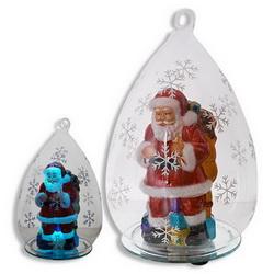 Дед Мороз в новогоднем шарике