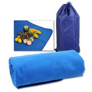 Плед для пикника с непромокаемой подкладкой в чехле