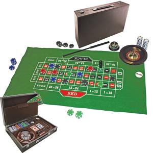 Набор для игры в рулетку и карты