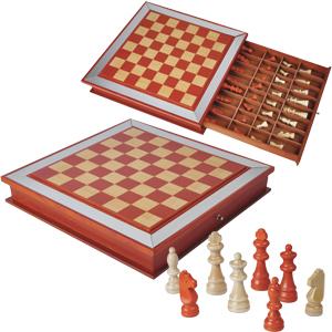 Шахматы с выдвигающимся ящиком