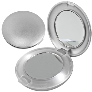 Зеркальце круглое со светодиодной подсветкой