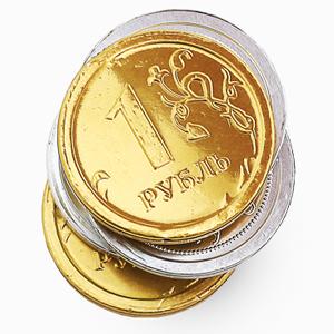 Шоколадные медали и монеты
