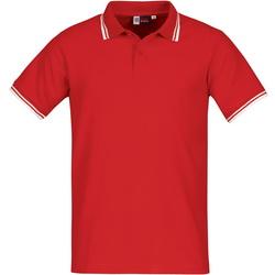 Рубашка-поло, с контрастной отделкой