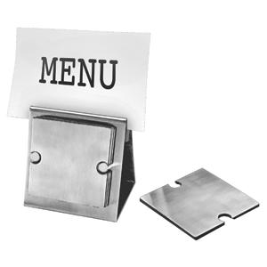 Набор: держатель для меню