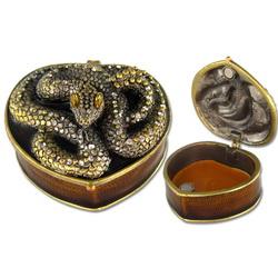 Шкатулка для драгоценностей Змея