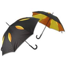 Зонт-трость полуавтомат двухслойный