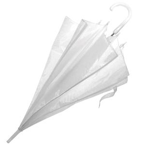 Зонт-трость с пластиковой ручкой, полуавтомат