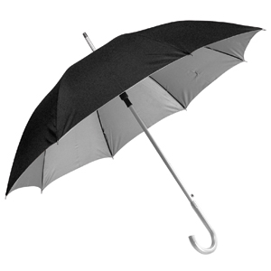 Зонт-трость с пластиковой ручкой
