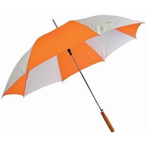 Зонт двухцветный, полуавтомат