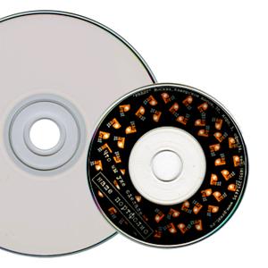 CD, DVD с полноцветной печатью